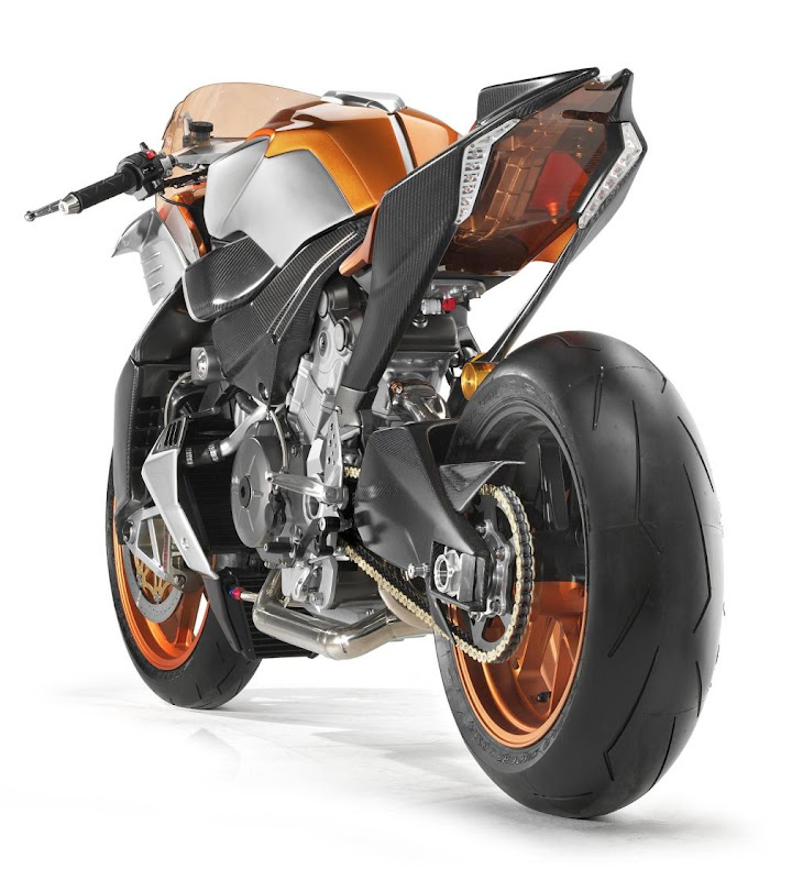 News Aprilia FV2 1200 Monster Concept Bike