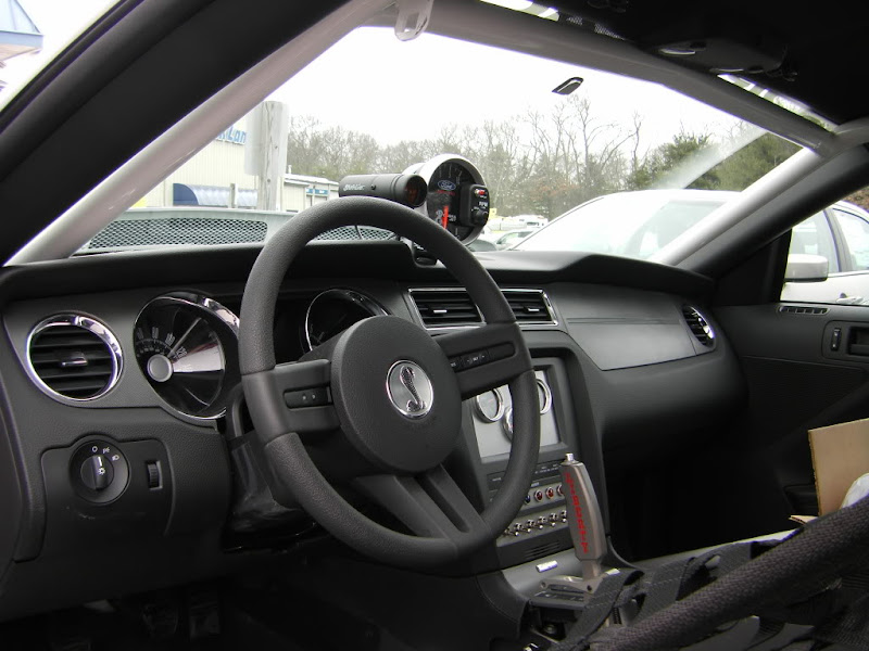 2010 Ford Racing Cobra Jet Mustangs Interior