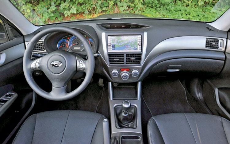 Cars Asyu Subaru Forester 2010 Interior