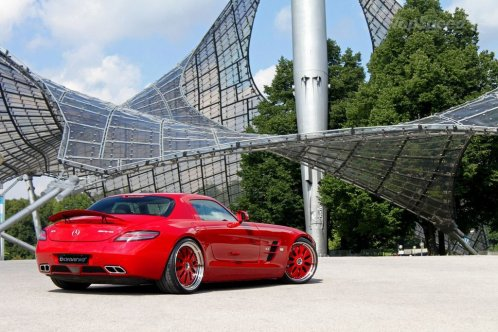 2010 Mercedes SLS AMG By Domanig