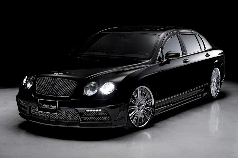 Bentley Continental Flying Spur Black Bison