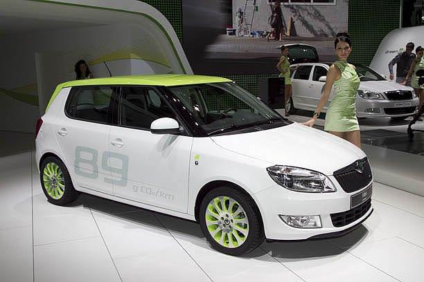 2011 Skoda Greenline Model