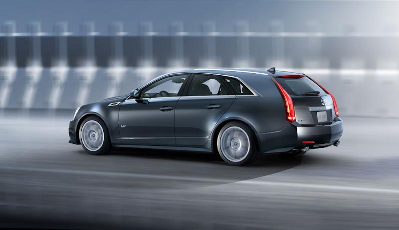 2011 Cadillac CTS V Wagon Interior