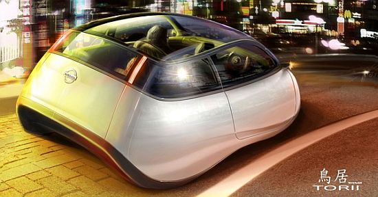 Nissan Torii Electric Concept  2030