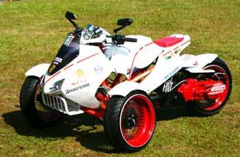 Suzuki Spin Can-Am Spyder Modif ication