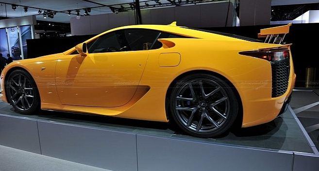 Orange Lexus LFA