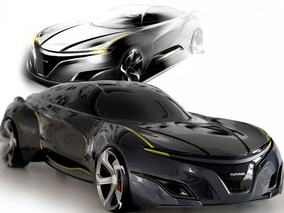 Saab Concept Sports Sedan By Youngho Jong