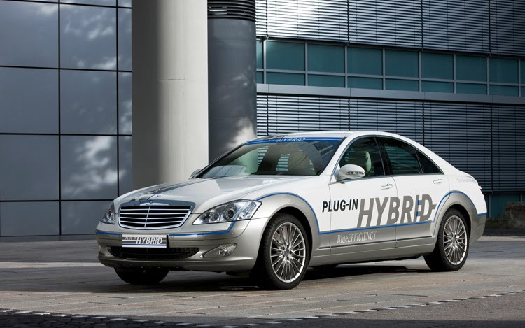 Mercedes-Benz hybrid plugin
