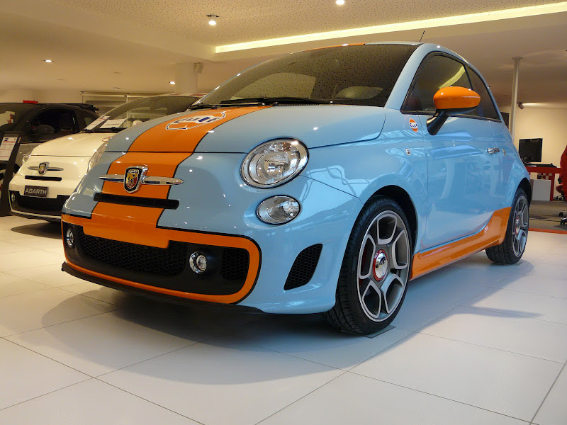 Fiat Abarth 500 Gulf limited