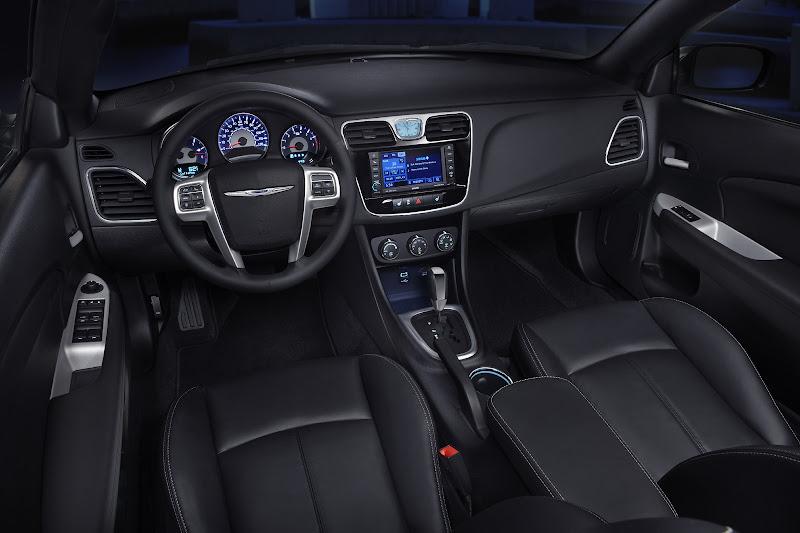 2012 Chrysler 200 Convertible interior