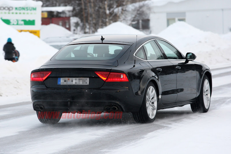 Spy Shots: 2013 Audi RS7