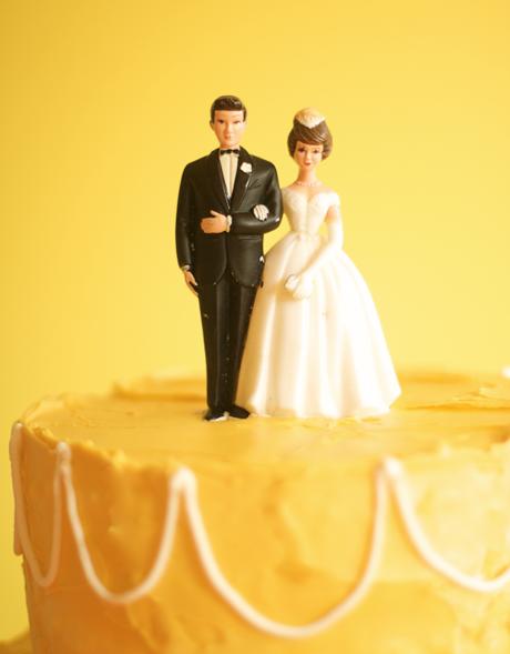 La Fleur Vintage Vintage Wedding Cake Toppers