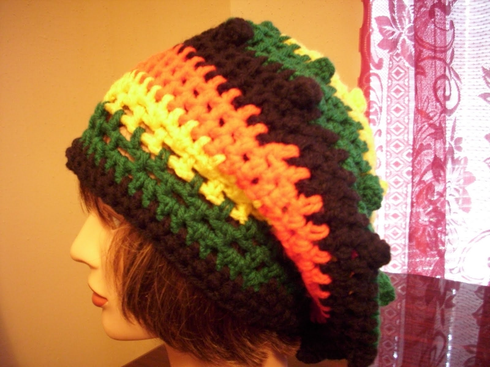 Easy Crochet Rasta Hat Pattern : RASTA HAT CROCHET PATTERN