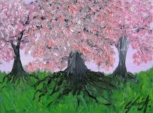 Cerezos verdes