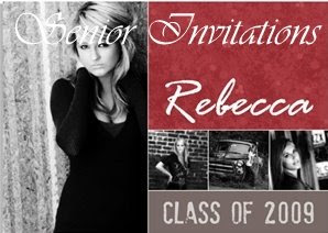 senior invitations