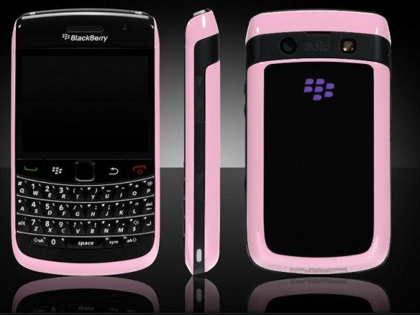 That city Gal: Pink Blackberry Bold 9700 = Love!