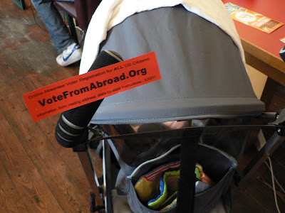 votefromabroad on stroller