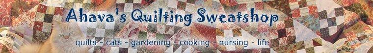 Ahava's Quilting Sweatshop