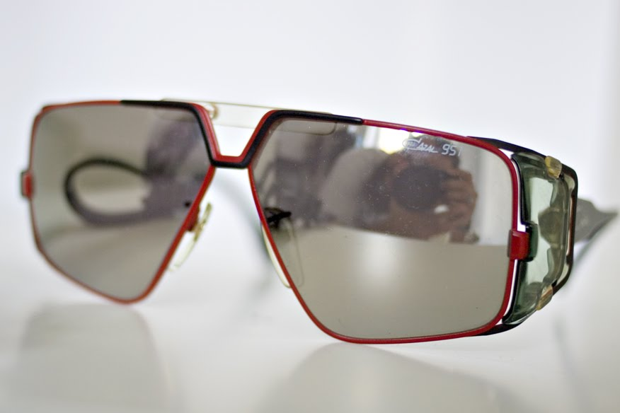 6f849197e8e This is a really rare version of the Cazal 951 with mirrored lenses. What  more can i say
