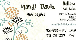 Mandi's Business Card