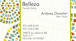 Andrea's Business Card