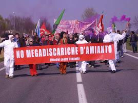 NO alle megadiscariche d'amianto! Gli interessi privati non devono prevalere su quelli pubblici