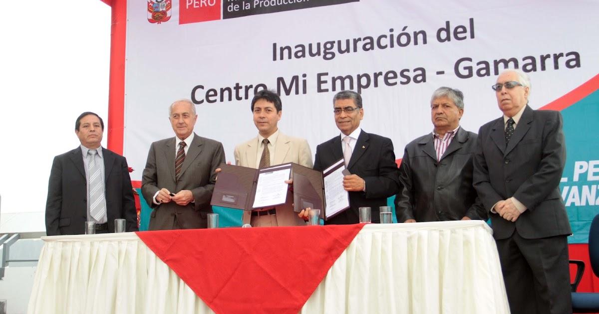 Gamarra habla el ministerio de la producci n impulsa la for Ministerio de innovacion