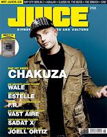 deutschrap: Juice magazin cover - Ausgabe 06/2008
