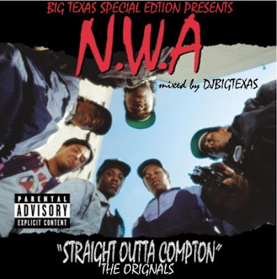 NWA - Straight Outta Compton - The Original Samples - DJ Big Texas Mix