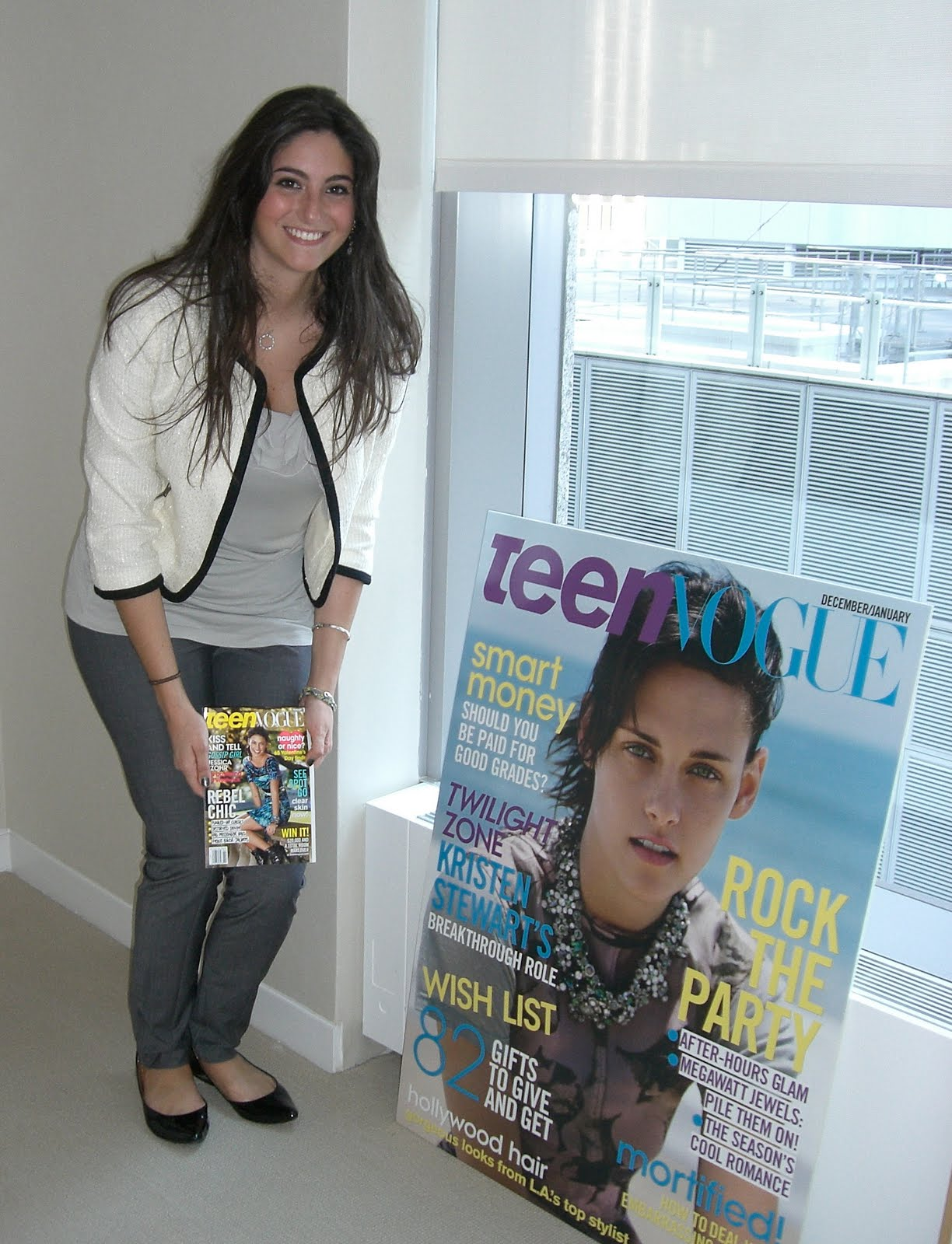 After my day exploring all the wonders Teen Vogue had to offer, ...
