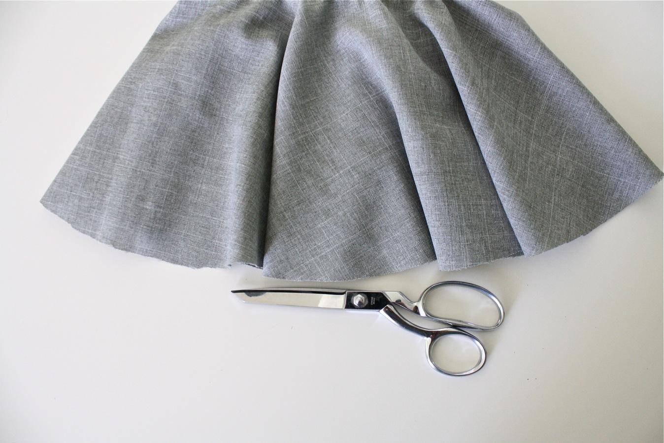 Как сшить шёлковую юбку-солнце на резинке Мастер-классы 37