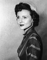 Betty White  at age 26 in 1950 on Hollywood On Television show where she ... 