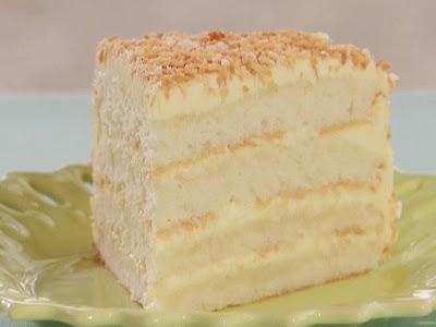 Bobby Flay Coconut Cream Cake
