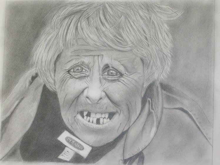 Homeless lady #1