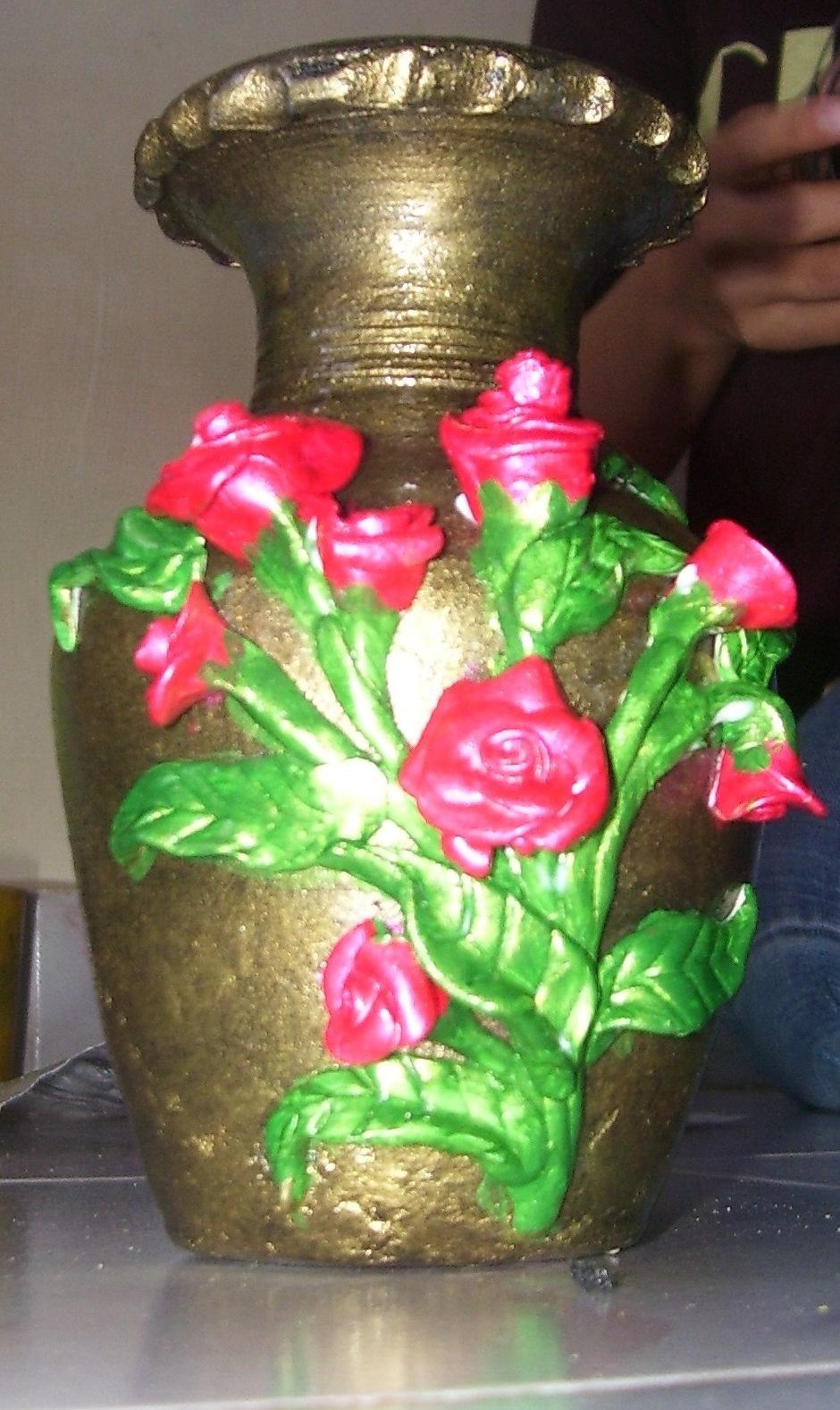 bhuvana 39 s creative world pot painting
