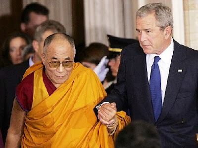 The Citizen: Bush asks China to open talks with Dalai Lama