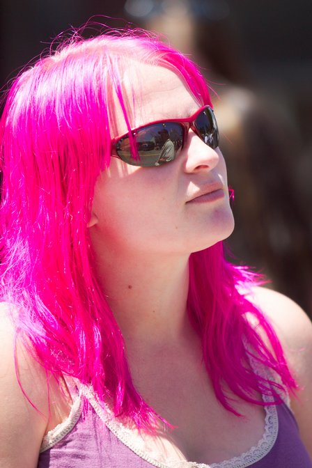 ♥C for Crystal♥: Pinky hair color!