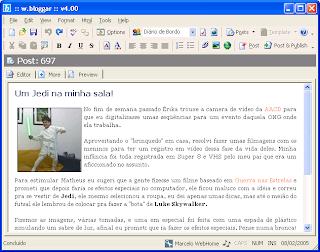 WBlogger Blogger Desktop editor