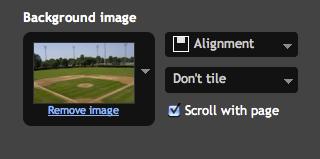 Set Custom Photo as Blogger Background