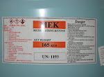 METHYL ETHYL KETONE, M.E.K