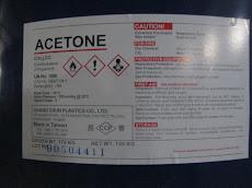 ACETONE ( C3H6O2)