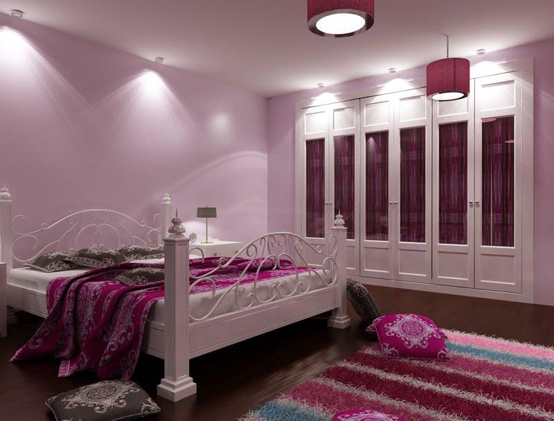 Dormitorio clásico en 3D