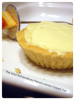 ... 'The Most Extraordinary French Lemon Cream Tart' featured on pg 331-333 ...