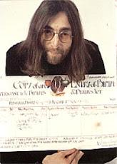 John Lennon -Vermelho