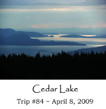 Cedar Lake in the Chuckanuts
