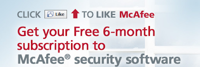 Download Full and Free McAfee Internet Security for 6 Months