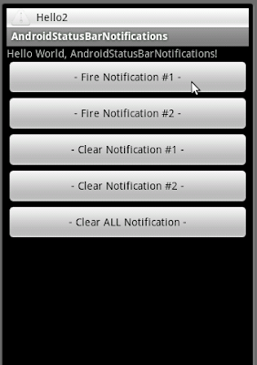 如何取消狀態欄通知(status bar notification)