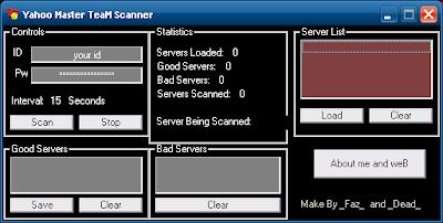 Yahoo Masters Scanner