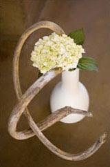 hydrangea ikebana