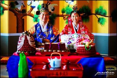 korean bowing ceremony